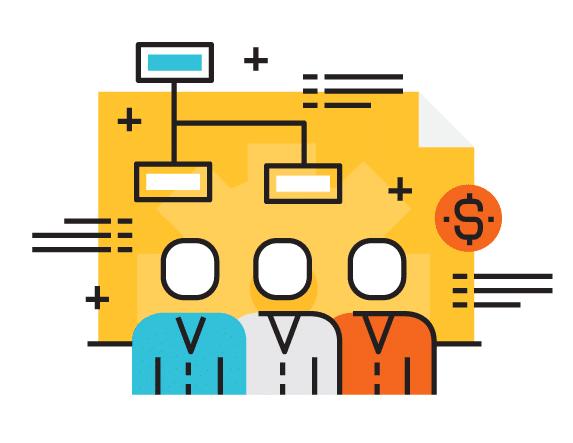 چارت سازمانی - ساختار سازمانی